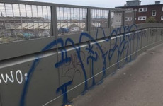 Locals angry anti-graffiti paint wasn't used on new cycle bridge that has already been vandalised