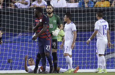 'My girl's mad!' - US striker Altidore bitten and has nipple twisted