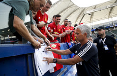 Mourinho treating Manchester derby as training session in front of 70,000 American fans