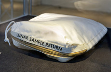 Neil Armstrong's moon bag sells for $1.8 million in New York