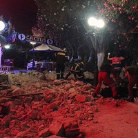 Two dead, 120 injured, in massive earthquake in Greece and Turkey