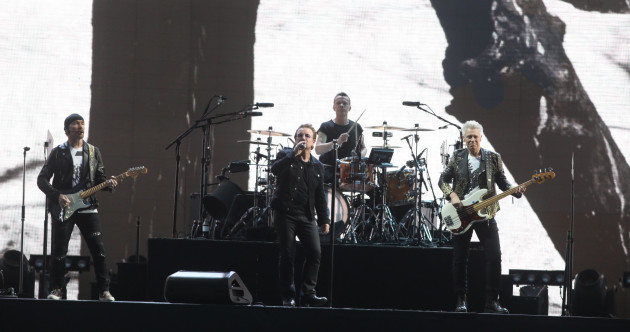 A spectacular fly-past and understated Trump references: U2 bring 'The Joshua Tree' home
