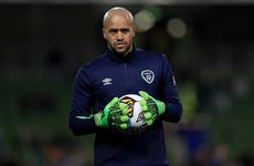 Ireland's number one goalkeeper Darren Randolph has found a new club