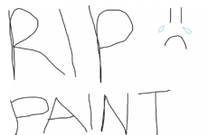 People are in mourning as it's just been announced that Microsoft Paint is being scrapped