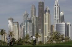 McIlroy roars into the lead in Dubai