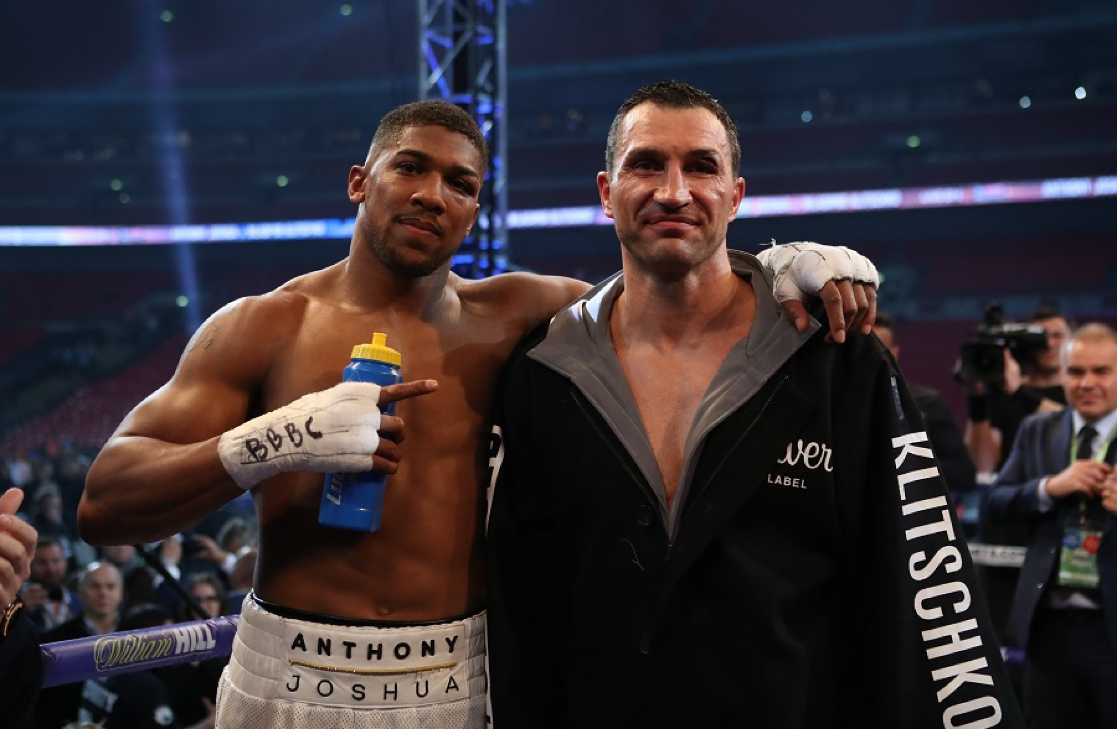 Anthony Joshua to hit jackpot with Vegas rematch with Wladimir Klitschko