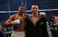 Joshua and Klitschko's rematch 'pencilled in' for November