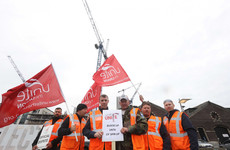 Ireland's crane drivers to carry out second day of strike action tomorrow