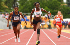 Another sprint medal for Ireland's youngsters as Adekele bags 200m European silver