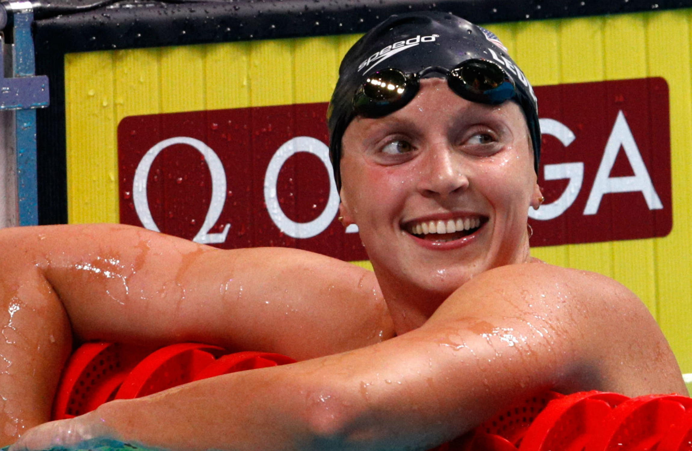 Katie Ledecky wins 14th world gold