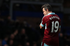 Joey Barton not allowed to play in Grenfell Tower charity match because of FA betting ban