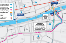Going to Croker next weekend? Luas works mean you should 'avoid the city centre completely'