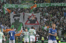 Celtic fined by Uefa for displaying paramilitary banner in Linfield clash