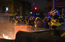 Pictures: Violent protests in east London after 20-year-old dies after being chased by police