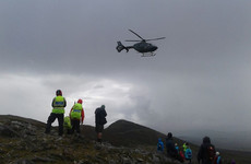 Man suffers heart attack, and others sustain serious injuries, on way up Croagh Patrick