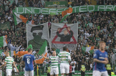 Scottish police arrest 12 men over paramilitary banners displayed at Celtic Park