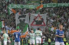 Scottish police arrest 12 men over paramilitary banners displayed at Celtic Park