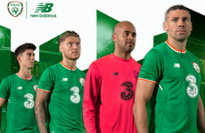 Ireland's first New Balance home kit has been officially unveiled