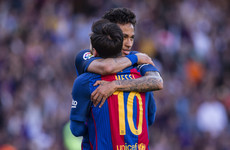 'It was an enormous pleasure': Leo Messi bids heartfelt farewell to Neymar