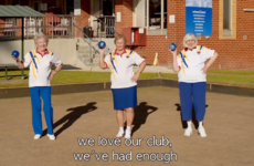 Nearly 10,000 people sign petition after Aussie lawn bowlers channel Beyonce to save green