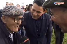 A 96-year-old Irishman was interviewed by Sky after his horse won at the Galway Races and it was just lovely