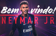 It's official! Paris Saint-Germain smash the world record with €222m Neymar transfer