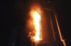 Residents evacuated after fire engulfs one of Dubai's tallest skyscrapers