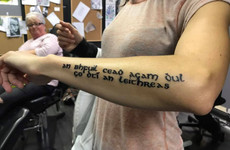 An Irish girl in Australia got a brilliant Gaeilge tattoo on her arm because she kept getting asked to speak Irish