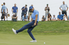 Steph Curry made his pro golf debut yesterday, and certainly didn't disgrace himself