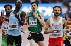 Mark English fails to qualify for 800m semi-finals at the World Championships