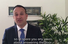 Weeks after his Love Actually moment, Leo Varadkar has referenced Notting Hill in his weekly address