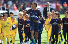 Neymar's PSG debut delayed as thousands turn out for official unveiling