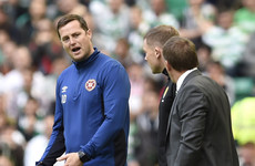 Hearts boss Daly labels Rodgers 'an absolute disgrace'