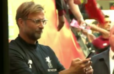 'I heard Dublin is quite an LFC city. Now I know' - Klopp and the Liverpool players stay behind to meet Irish fans