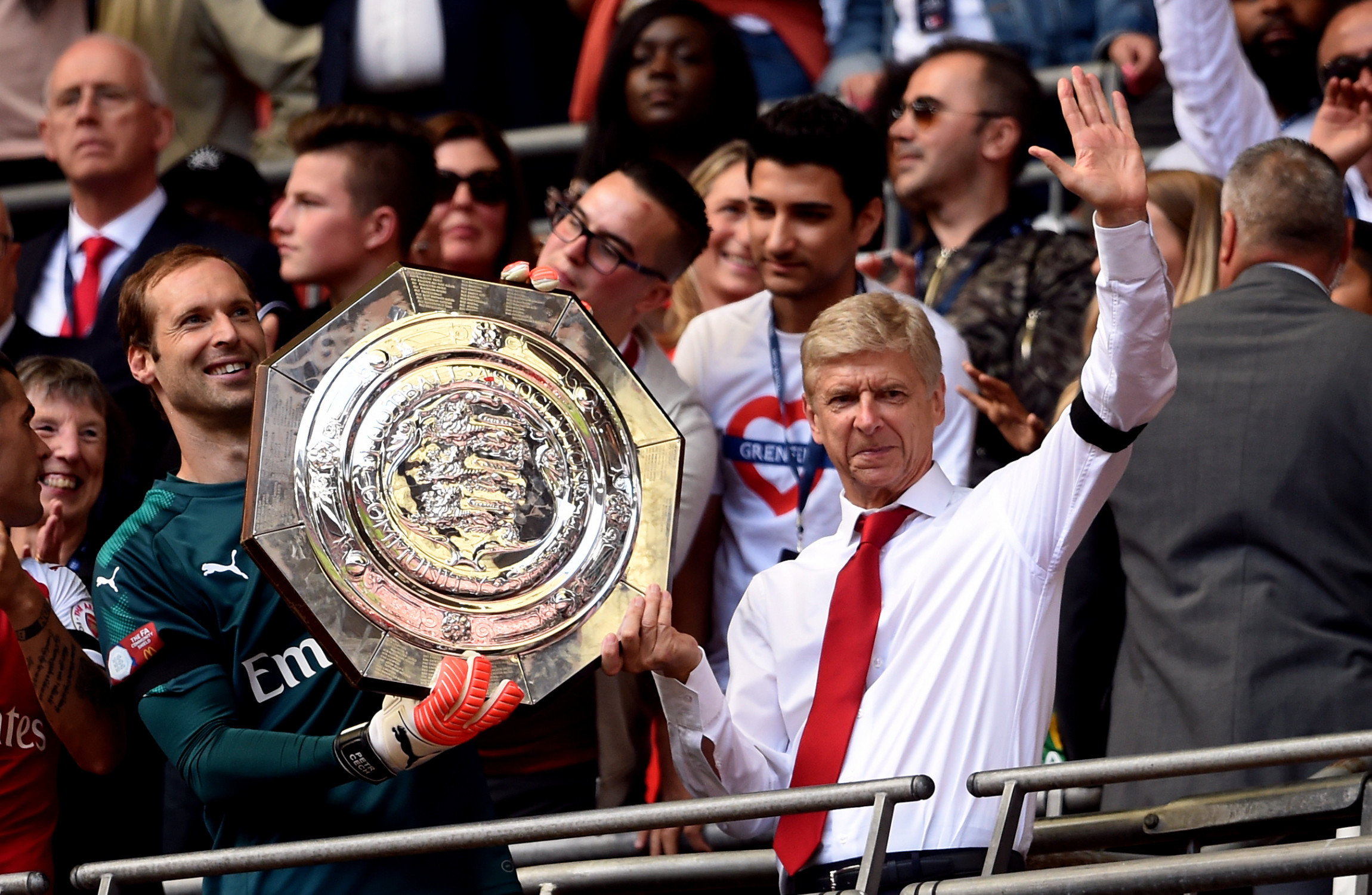 'We want to be united and together throughout the season ... Arsene Wenger Affair
