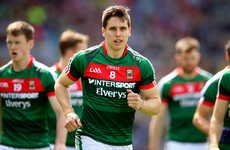 Hospital treatment for foot injury ruled Keegan out for Mayo today