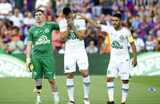 It was a really emotional night at the Camp Nou as Chapecoense paid a special visit