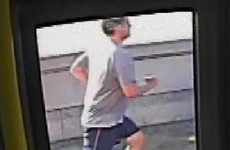 London police release footage of jogger pushing woman into path of bus