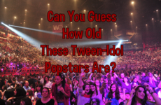 Can You Guess How Old These Tween-Idol Popstars Are?