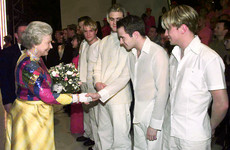 Brian McFadden shared an old photo of Westlife meeting the Queen with the most cutting caption