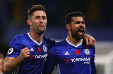 Departing Diego Costa 'will be missed' by Chelsea