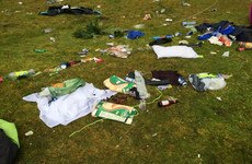 Locals angered after teenagers leave tents, faeces and used condoms in park after 'festival'