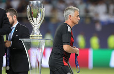 Jose Mourinho explains why he gave his Uefa Super Cup medal to a young fan