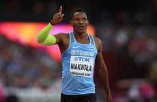 Isaac Makwala given permission to run solo time-trial after being denied entry
