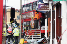 Pictures: At least 10 injured after London bus ploughs into shop on busy street