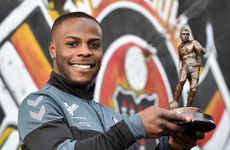 Bohemians midfield general Fuad Sule has been named League of Ireland Player of the Month