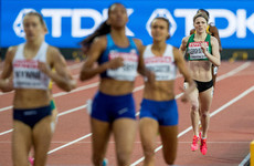 Ireland's Siofra Cléirigh-Buttner falls short in 800m heats