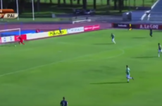 Estonian side that lost to Cork City score after 14 seconds... without even touching the ball