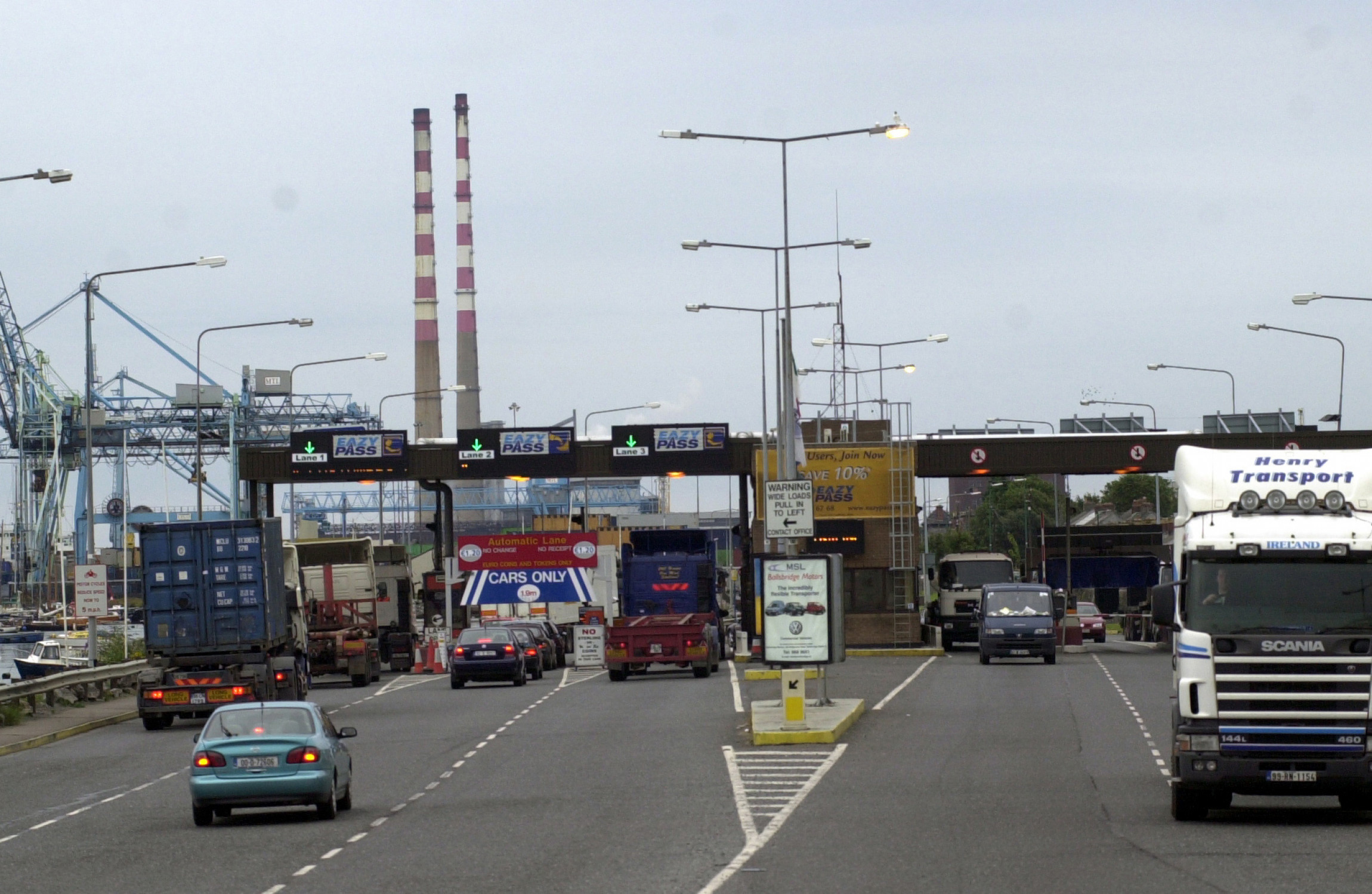 Tolls on Dublin's Eastlink Bridge to be reduced