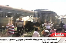 At least 36 dead as two trains crash head-on in Egypt